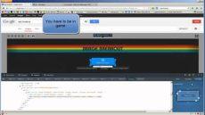 atari breakout hack tutorial java script edit firefox - Atari Breakout Google Hack