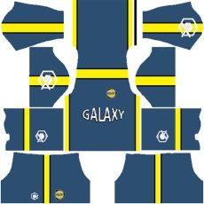 kit dls la galaxy kit dls retro la galaxy 2001