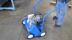 bluebird lawn comber f20b parts bluebird c18 lawn comber power rake thatcher briggs stratton gas engine