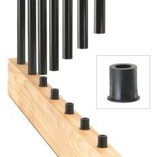 deck baluster connectors level baluster connectors by deckorators decksdirect