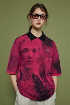 fred perry x raf simons oversized jacket fred perry x raf simons oversized digital print piqu 233 shirt walker