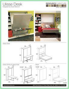 murphy bed desk plans pdf 87 reference of desk bed diy in 2020 murphy bed desk horizontal murphy bed murphy bed