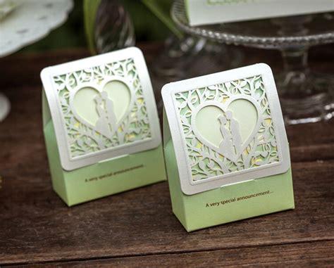 brand 100pcs lot personalized wedding paper candy box