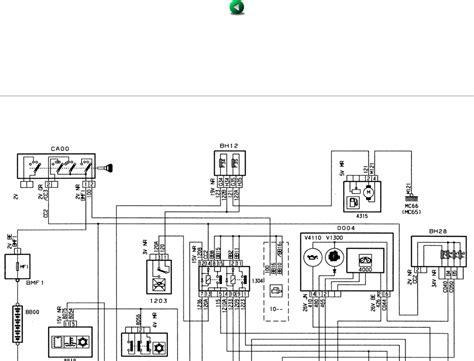 schema electrique 306 cabriolet