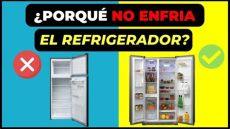 porque no enfria el refrigerador porque el refrigerador no enfria haz esto