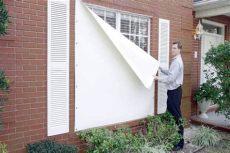 hurricane fabric shutters fabric shield hurricane shutters gainesville