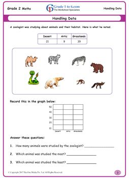 grade 2 data handling workbook beeone books grade