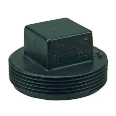 home depot plug 4 in abs dwv mipt cleanout c5818hd4 the home depot