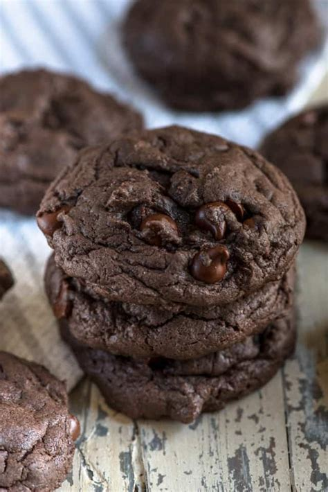 chocolate cake mix cookies easy good ideas