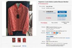 louis vuitton supreme hoodie real price supreme x louis vuitton absurd resell prices hypebeast