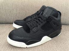 air 4 black pony hair sneaker bar detroit - Air Jordan 4 Premium Pinnacle