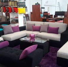 mueble de sala seccional juego de sala s 1 099 00 en mercado libre - Juegos De Sala Baratos El Salvador