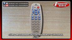 como programar un control universal sanyo c 211 mo programar configurar un remoto universal f 188 janesong