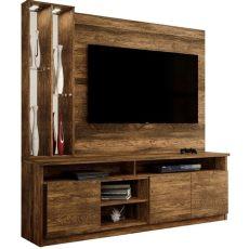 muebles rusticos para tv mueble home theater opera color canela r 250 stico para tv de hasta 51 p