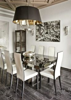 decoracion de comedores modernos y elegantes comedor moderno en color blanco y gris decoraci 243 n de comedor decoracion de interiores