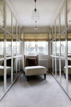 walk in wardrobe mirror doors 100 stylish and exciting walk in closet design ideas digsdigs