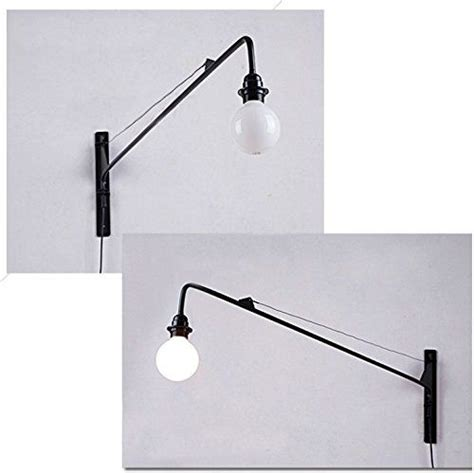 susuo lighting open bulb style swing wall