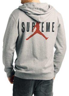 supreme air grey hoodie swag shirts - Chion Supreme Hoodie Grey