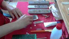como reparar un control remoto como arreglar o reparar un remoto que le fallan algunas teclas