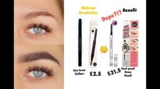 brow definer dupe is makeup revolution duo brow definer dupe for benefit goof proof brow review