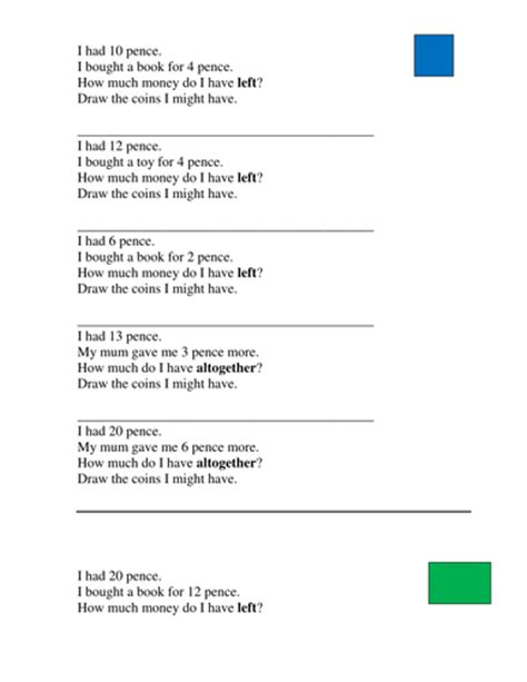 year 2 3 money word problems joelroutledge teaching