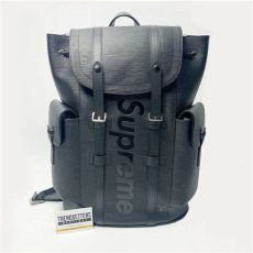 supreme x louis vuitton backpack price louis vuitton x supreme 100 authentic lv backpack christopher pm bag epi black ebay