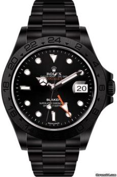 rolex blaken explorer price rolex explorer ii black dlc by blaken for price on request for sale from a trusted seller on