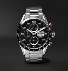 tag heuer carrera mikrotourbillons prezzo tag heuer automatic chronograph 43mm polished steel ref no cv2a1v ba0738 in