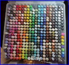 copic sketch 358 markers complete set supply box copic sketch 358 all color markers set craft not box included