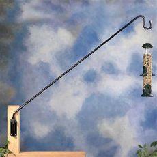 bird feeder pole bracket thunder ridge gardens birds and wildlife brackets poles