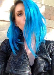 pravana chromasilk vivids blue on dark hair pravana neon blue and blue pravana hair color best hair dye neon hair