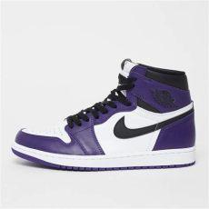 snipes jordan 1 air 1 retro high og court purple sneaker bei snipes
