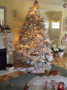 give your tree a flocking this christmas vancouver from deborah in vancouver washgington live trees flocked trees
