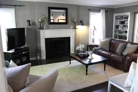 nice living room painting ideas brown furniture room