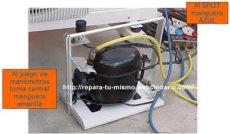 como cargar gas r22 a un minisplit 187 como cargar gas a un aire acondicionado split r22