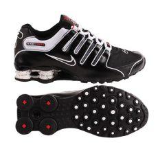 nike shox nz herren sneaker turnschuhe schwarz wei 223 ebay - Nike Shox Nz Herren Schwarz
