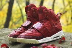 nike air yeezy 1 red october nike air yeezy 1 quot october quot by jbf customs sneakernews
