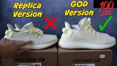 fake yeezy v2 butter yeezy butter quot replica quot vs quot ua yeezy boost 350 v2 butter quot review unboxing on
