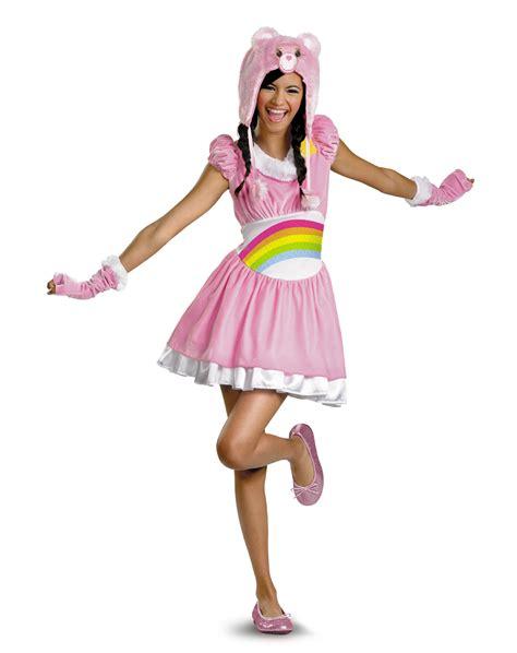 cute halloween costumes teen girls pink care bear