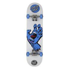 santa cruz screaming hand skateboard santa screaming complete skateboard white 7 75 quot santa skateboards for sale