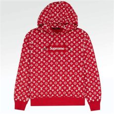 louis vuitton supreme hoodie real price supreme x louis vuitton monogram box logo hoodie crepslocker