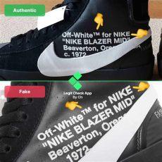 nike off white blazer black real vs fake vs real white nike blazer mid grim reaper black guide legit check by ch