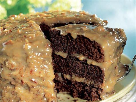 German Chocolate Cake Recipe Box