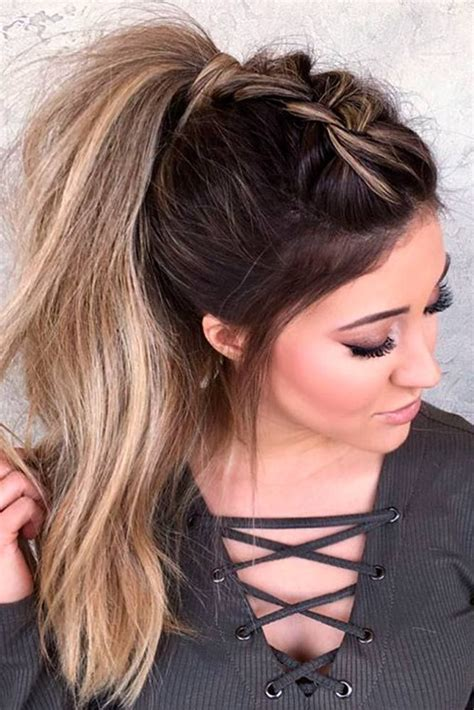 59 easy ponytail hairstyles school ideas ponytail hairstyles