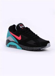 nike air max 180 black nike air max 180 trainers black