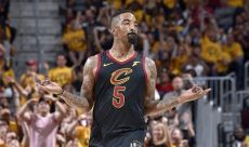 jr smith shoes playoffs 2018 j r smith shows signs of for cavaliers the undefeated