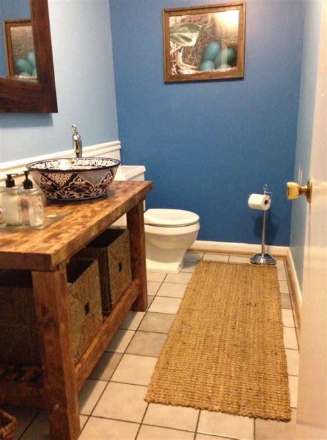 kitchen cart turned bathroom vanity ikea hackers