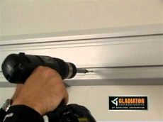 gladiator 174 how to install geartrack channels - Gladiator Geartrack Installation Height
