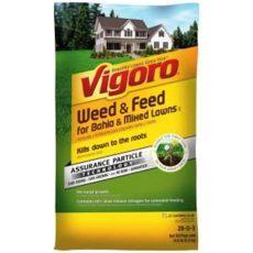 vigoro bahia weed and feed vigoro and feed 5 000 sq ft for bahia and mixed lawns ii 22580 1 the home depot