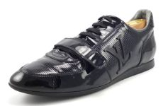 louis vuitton shoes men sneakers louis vuitton mens shoes 7 8 us patent sneakers black distinctive deals designer bags